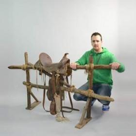 Clôture et selle 100cm