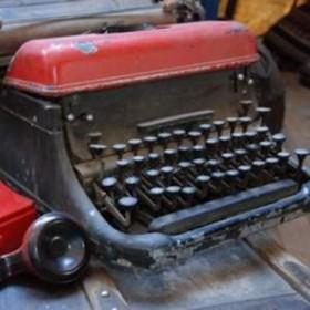 Machine à écrire rétro 30cm