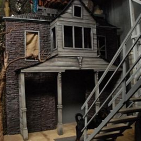 Maison grise 460cm