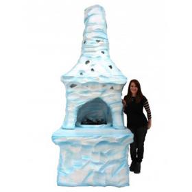 Cheminée de glace