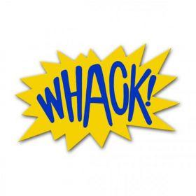 """Texte bande-dessinée """"WHACK"""""""