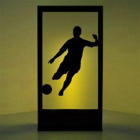 Panneau lumineux joueur de foot 1