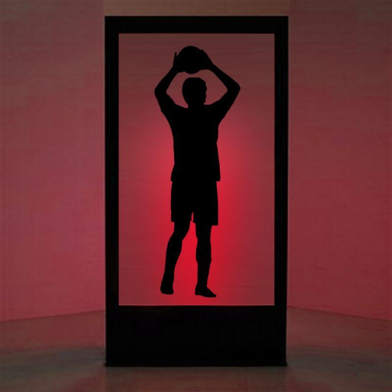 panneau lumineux footballeur libdeco sp cialiste de la d coration v nementielle. Black Bedroom Furniture Sets. Home Design Ideas