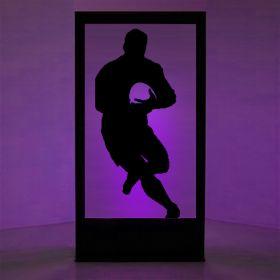 Panneau lumineux rugbyman 3
