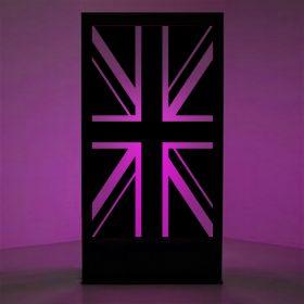 Panneau lumineux drapeau Angleterre