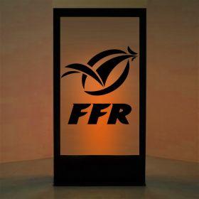 Panneau lumineux Fédération Française de Rugby