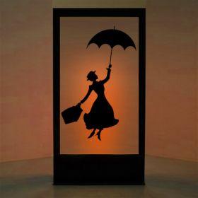Panneau lumineux Mary Poppins