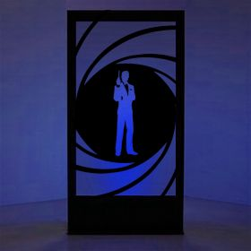 Panneau lumineux James Bond