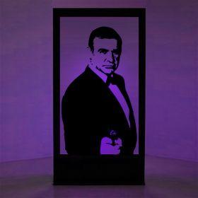 Panneaux lumineux Sean Connery