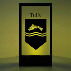 Panneau lumineux Blason maison Tully (Games of Thrones)
