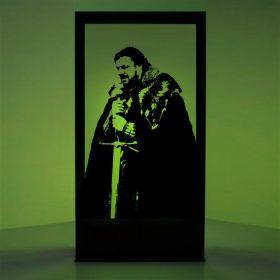 Panneau lumineux Eddard Stark (Games of Thrones)