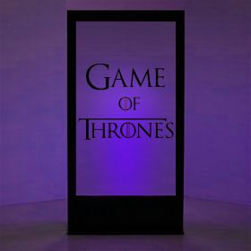 Panneau lumineux Games of Thrones