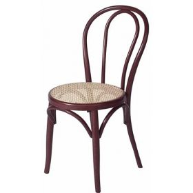 chaise bistrot marron