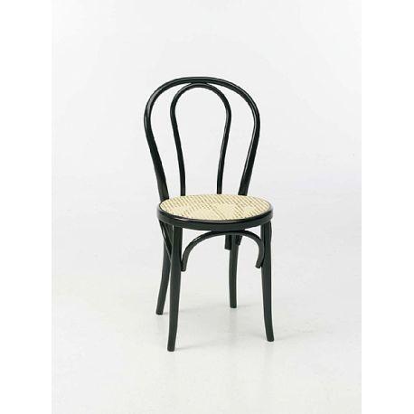 Avec Libdeco Louez Cette Chaise Bistrot Noire Pour Vos Soires Et