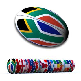 ballon de rugby géant