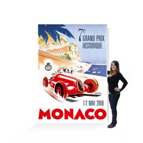 Affiche géante grand prix de Monaco historique