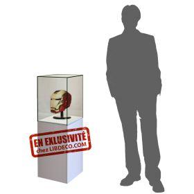 Vitrine collectionneur casque d'Iron man