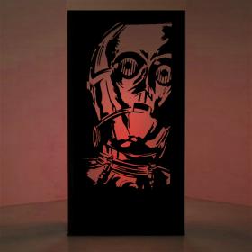 Panneau lumineux C3PO