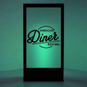 Panneaux lumineux Diner