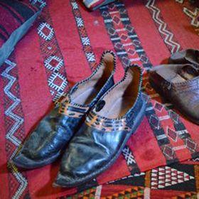 Chaussons arabes en deux modèles