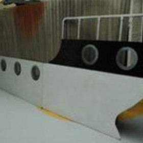 Bateau de croisière 2D 190cm