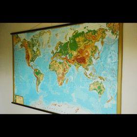 Carte du monde 160cm