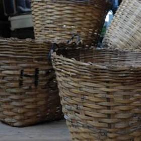 Panier en bambou