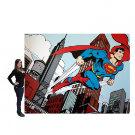 Panneau comics Superman