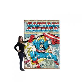 Toile comics Captain America