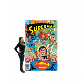 Toile comics Superman