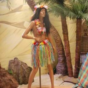 Automate Femme Hawaïenne 180cm