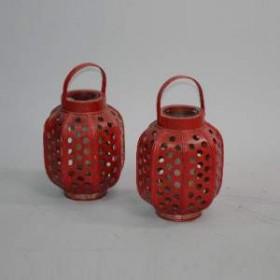Lanterne rouge 45cm