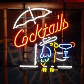 """Néon """"Cocktails"""" 66cm"""