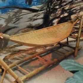 Hamac bambou 100cm