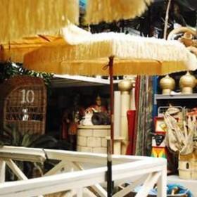 Parasol raphia 284cm
