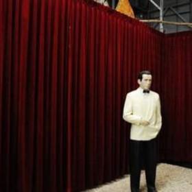 Fond de scène, écran de rideau 280cm