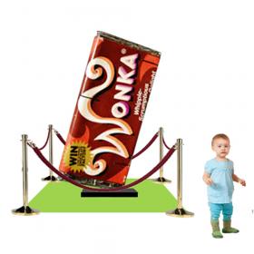 Barre Chocolat géante Charlie