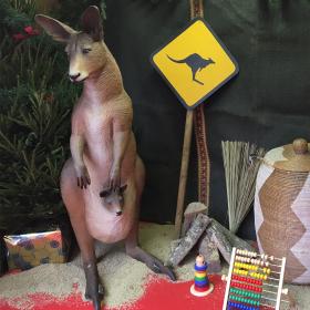Kangourou et bébé