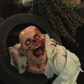 Zombie décomposé