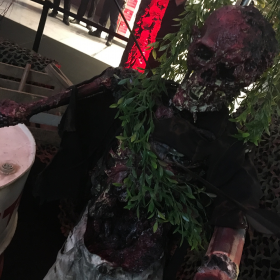 Squelette Zombie