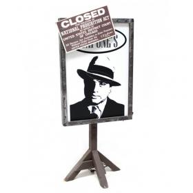 Panneau Al Capone