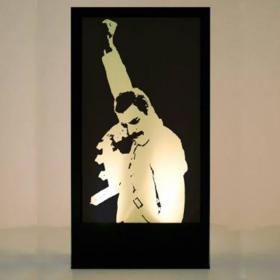 Panneau Lumineux Freddie Mercury