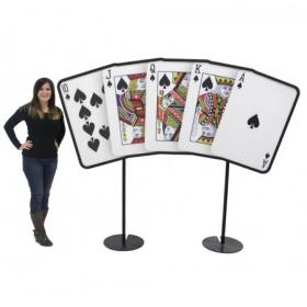 Jeu de cartes géant