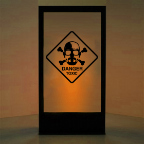 Panneau Danger Breaking Bad