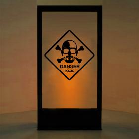Panneau Danger Breaking Bad