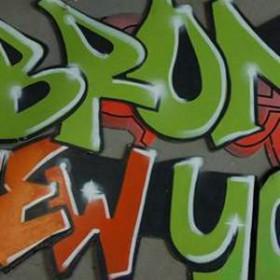 Panneau graffiti 200cm