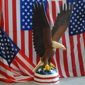 Aigle américain 140cm