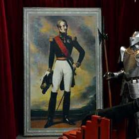 Peinture Portrait Baron