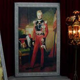 Peinture Portrait Garde Royal