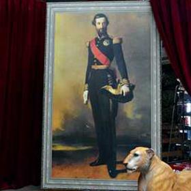 Peinture Portrait Prince